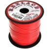 Vinyl Lacing Flat 100yds Red